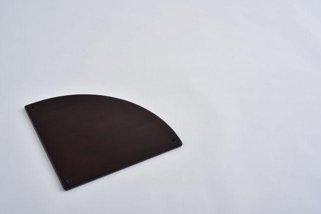ラバーラック扇棚板 ブラウンR400