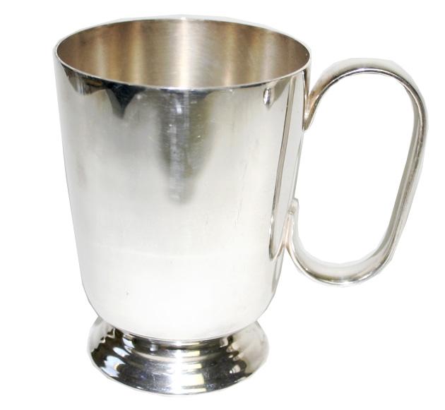 Mappin & Webb マッピン&ウェッブ シルバープレート マグカップ