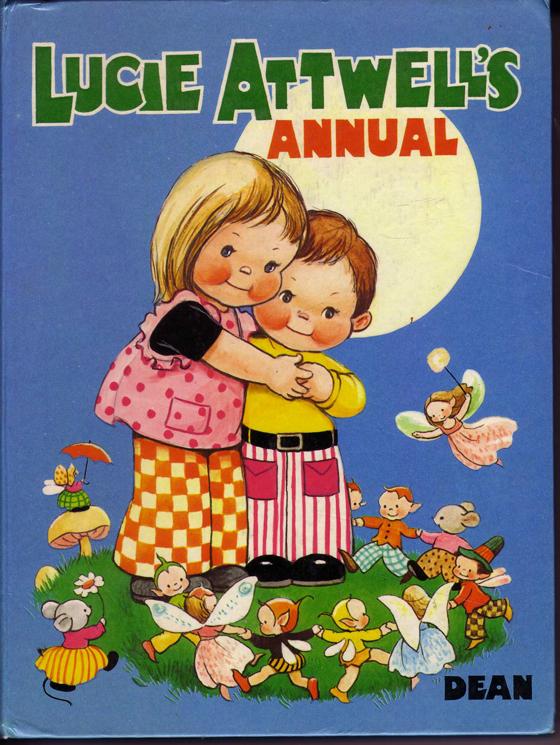 絶版 マーベルルーシーアトウェル アニュアル1975(イギリス)1974年