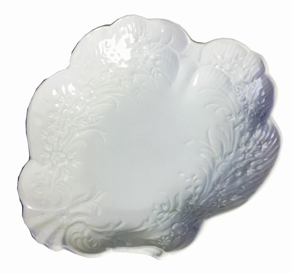ヘレンド HEREND (ハンガリー) ホワイト 花のレリーフスモールボウル