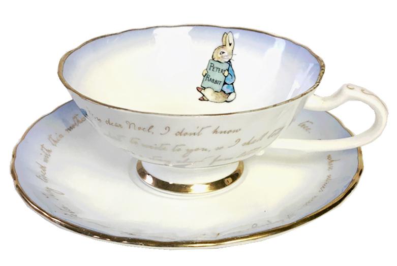 ピーターラビット生誕140周年記念 ティーカップ&ソーサー 2006年