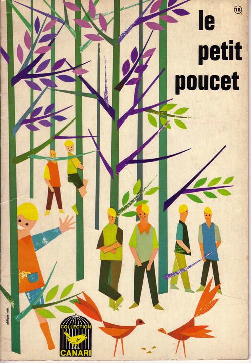 フランス語絵本 Le tetit poucet (フランス)1965