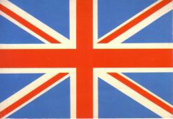 ヴィンテージ ユニオンジャックカード 1950年代(イギリス)