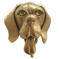 ヴィンテージ USA JJ (Jonette Jewely Company)犬の動くブローチ 真鍮製