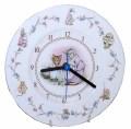ロイヤルアルバート Royal Albert ピーターラビットのお話 Peter Rabbit 子ねこのトム Tom Kitten 壁掛け時計 クォーツ 20.5cm