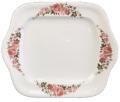 AVON エイボン ジャパン 2-周年記念  ローズ柄 スクエアサービスプレート 大皿 非売品