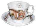 ロイヤルドルトン Royal Doulton ブランベリーヘッジ ウィンター ティーカップ&ソーサー