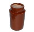 英国アンティーク 陶器クリームビン/ジャー