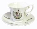 ボーダーファインボーンチャイナ Border Fine Bone China(イギリス) フラワーフェアリー ティーカップ&ソーサー