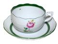 ヘレンド Herend ウィーンのバラ ティーカップ&ソーサー