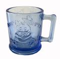 USA TIARA (インディアナグラス社) マザーグース ハンプティーダンプティーガラスマグカップ