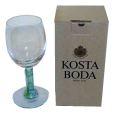 未使用箱入 廃番KOSTA BODA コスタボダ Kjell Engman(クジェル・エングマン)デザイン「 NOBIS 」ノビス クリスタル ワイングラス