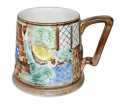 1950年代 イギリス H.J.Wood Berslem Pottery パブシーン レリーフマグカップ