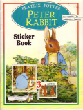 絶版 Beatrix Potter Peter Rabbit sticker book(シール絵本)1992年