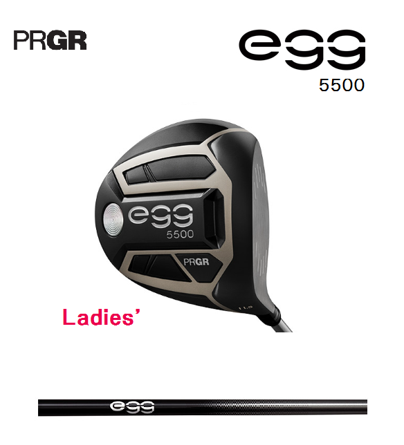 レディス プロギア egg 5500 ドライバー [専用シャフト フレックス:M-30(L)  ロフト:11.5] PRGR