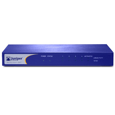 中古検査済 Juniper Networks NetScreen 5GT (NS-5GT-107-05)