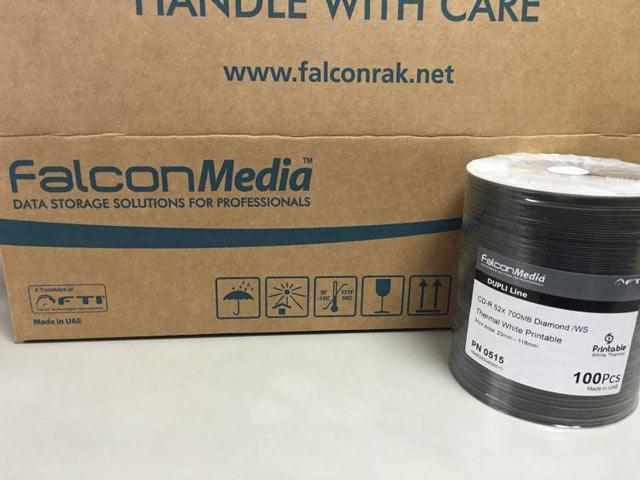 Falcon サーマルホワイトダイヤモンドCD-R 52x [PN0515]