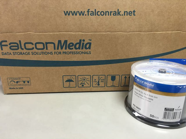 Falcon DVD+R DL [PN0689]