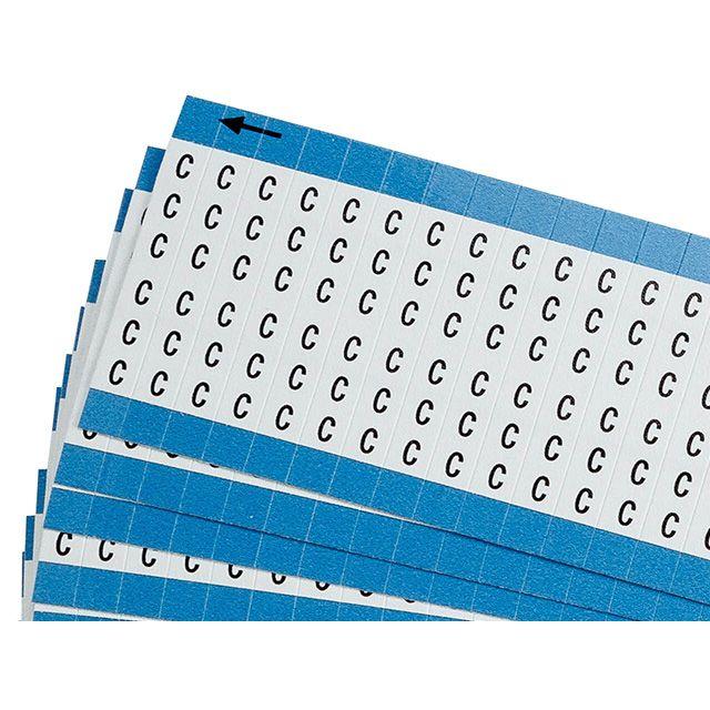 ワイヤーマーカーカード「C」WM-C-PK 900ラベル/箱