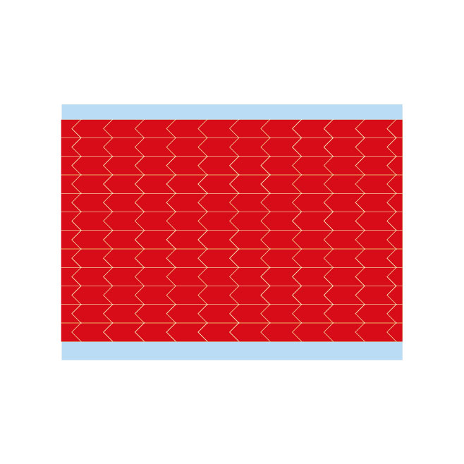 故障指示ラベル DIA-250-RD(25CDS/BX) 149402 赤 6.35x3.18mm