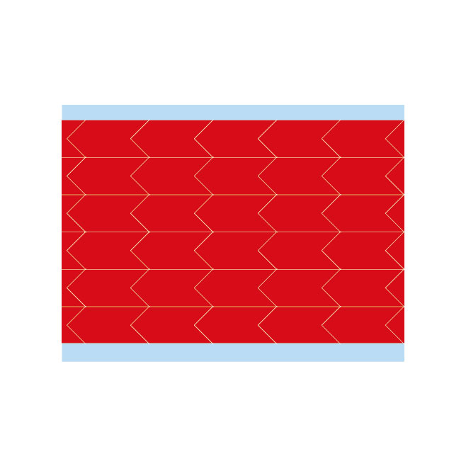 故障指示ラベル DIA-500-RD(25CDS/BX) 149404 赤 12.7x6.35mm