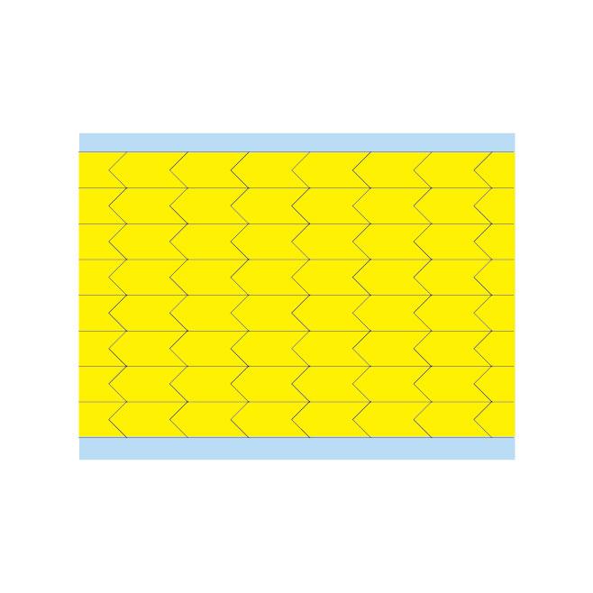 故障指示ラベル DIA-375-YL(25CDS/BX) 149400 黄 9.53x4.75mm
