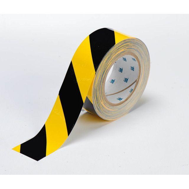 フロアラインテープ B-514 黄色地/黒 50.8mm x 30.48M