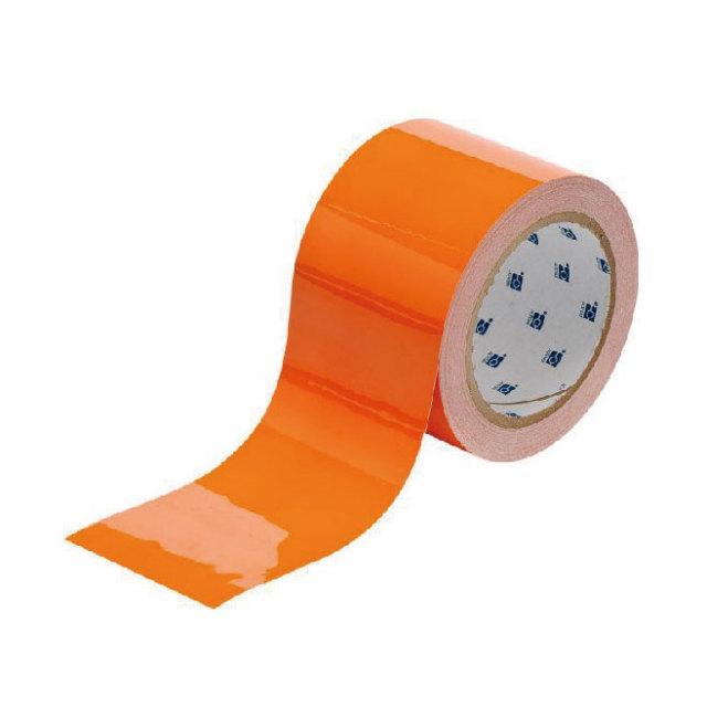 フロアラインテープ B-514 オレンジ 76.2mm x 30.48m