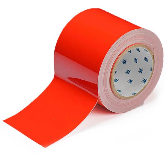 フロアラインテープ B-514 赤 101.6mm x 30.48m