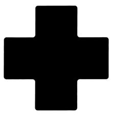 センターマーク用 十字型-20枚/パッケージ B-514