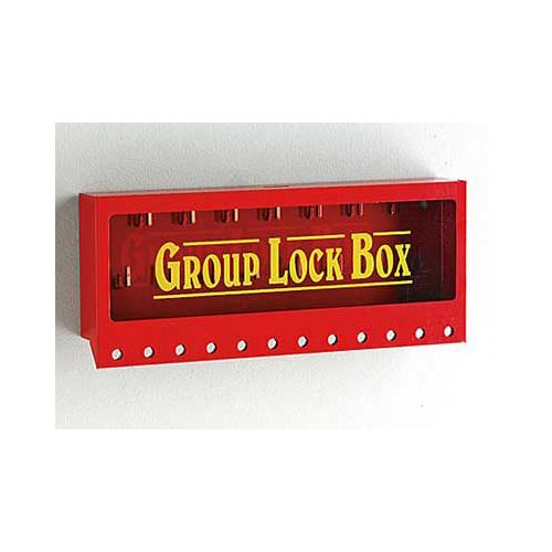 メタルウォールロックボックス