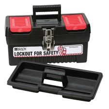 スモールロックアウトツールボックス H180.4mm x W355.6mm x D139.7mm
