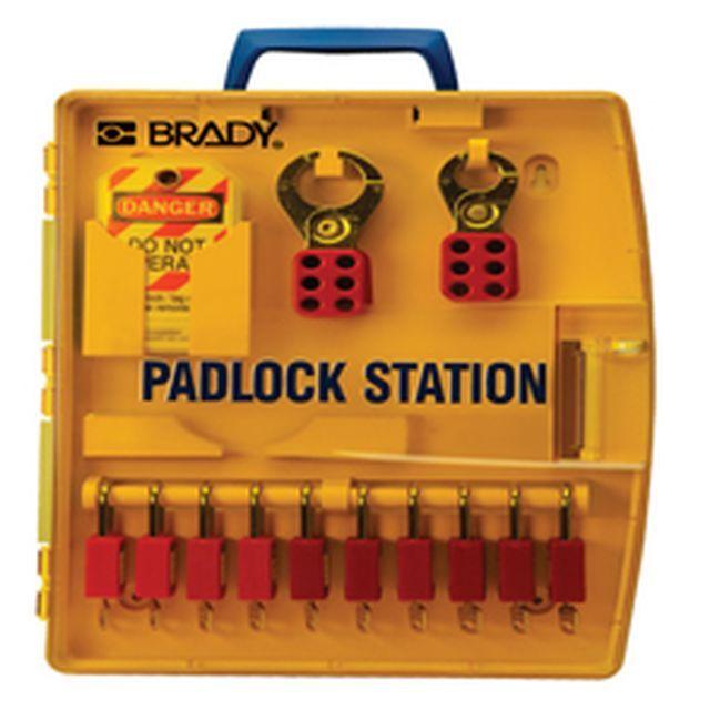パドロックステーション 10セーフティパドロック