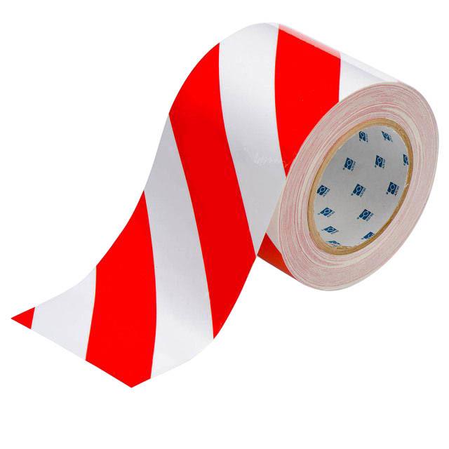 白赤テープ太