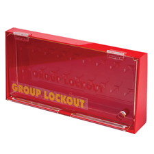 アクリルウォール ロックボックス(L)  H190.5mm x W400mm. x D63.6mm