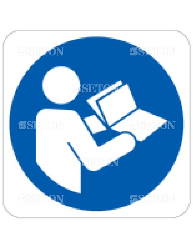 フロア・サインマークシール ISO 取扱説明書を参照 言語なし 140×140