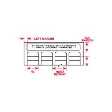LAT-13-759-2.5   W47.63mm x H21.16mm  紙ラベル