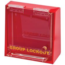 アクリルウォール ロックボックス (S) H152.4mm x W152.4mm x D63.5mm