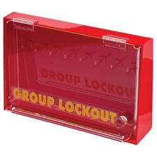 アクリルウォール ロックボックス(M)  H190.5mm x W304.8mm x D63.5mm