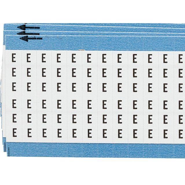 ワイヤーマーカーカード「E」WM-E-PK 900ラベル/箱
