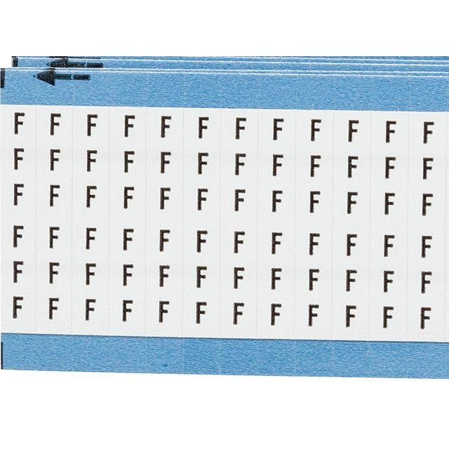 ワイヤーマーカーカード「F」WM-F-PK 900ラベル/箱