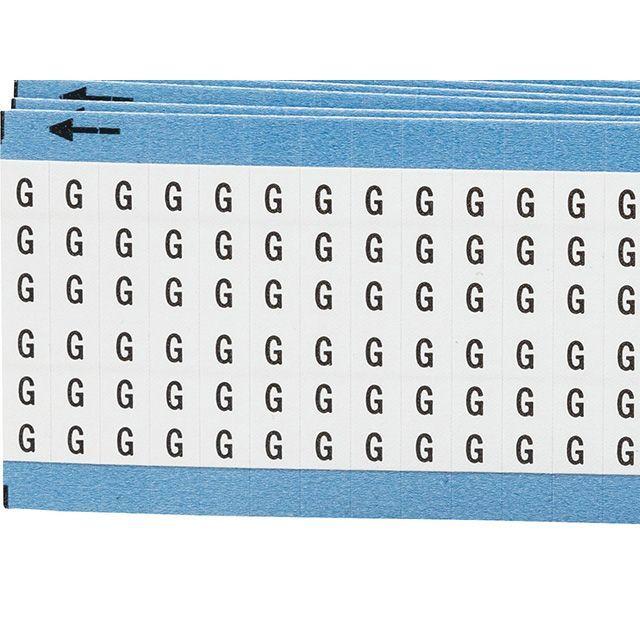 ワイヤーマーカーカード「G」WM-G-PK 900ラベル/箱