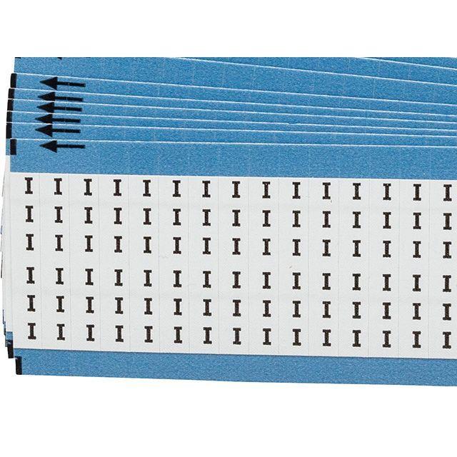 ワイヤーマーカーカード「I」WM-I-PK 900ラベル/箱