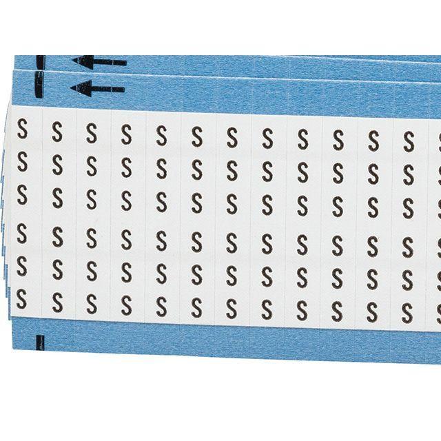 ワイヤーマーカーカード「S」WM-S-PK 900ラベル/箱