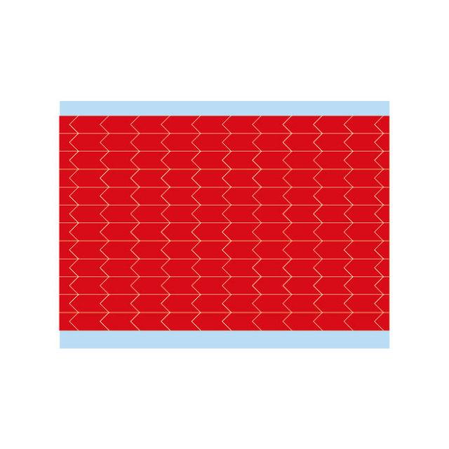 故障指示ラベル DIA-250-RD(25CDS/BX) 49346 赤 6.35x3.18mm