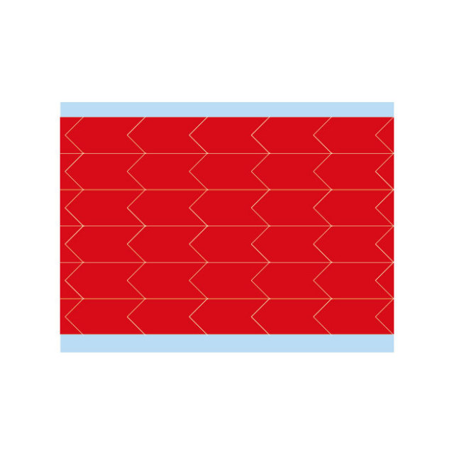 故障指示ラベル DIA-500-RD(25CDS/BX) 49348 赤 12.7x6.35mm