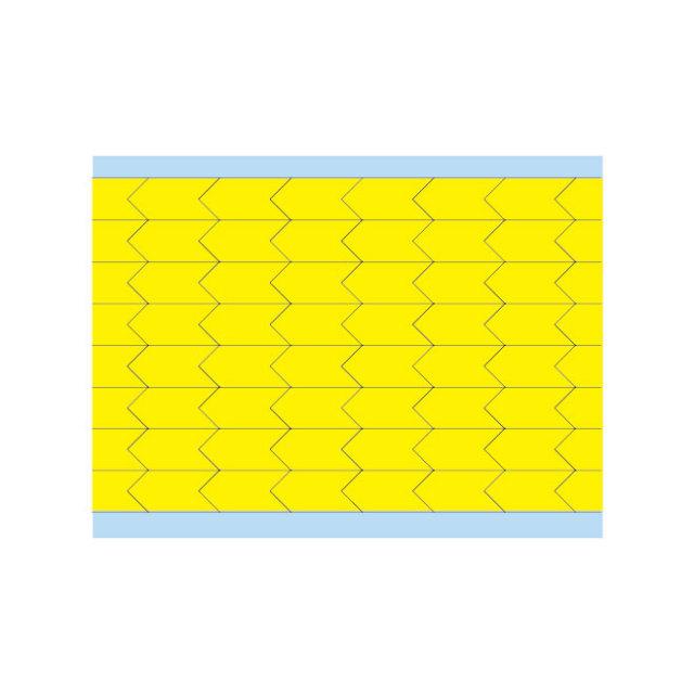 故障指示ラベル DIA-375-YL(25CDS/BX) 49344 黄 9.53x4.75mm