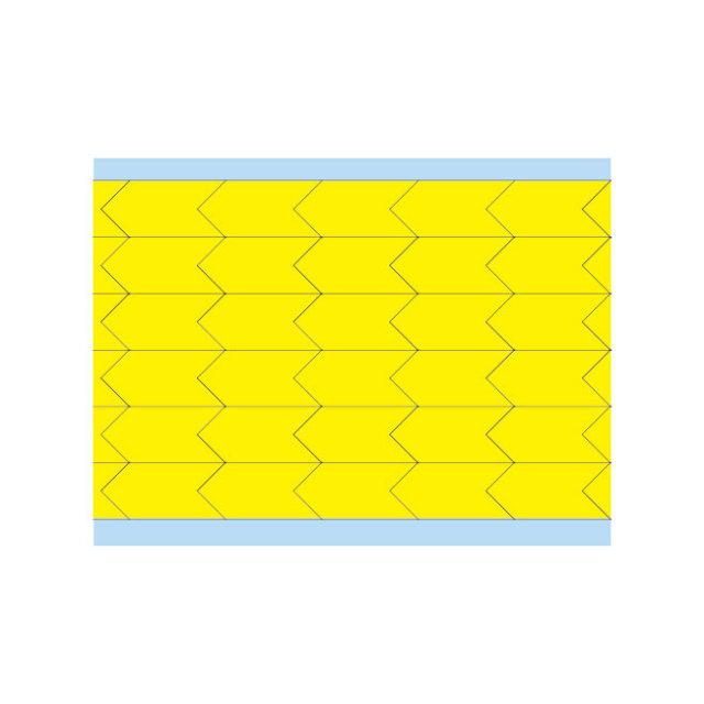 故障指示ラベル DIA-500-YL(25CDS/BX) 49345 黄 12.7x6.35mm
