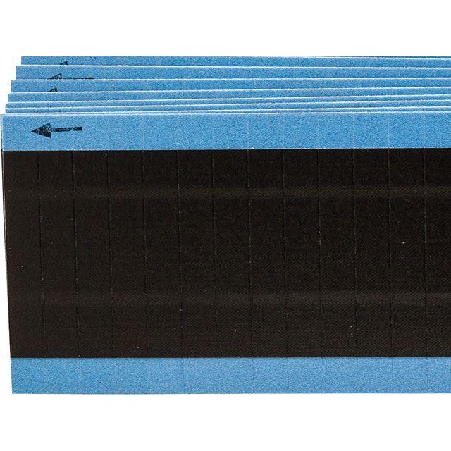 ワイヤーマーカーカード 黒無地 WM-COL-BK-PK  900ラベル/箱