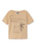 【BOBOCHOSES/W.I.M.A.M.P.】118607 BROWN T-Shirt